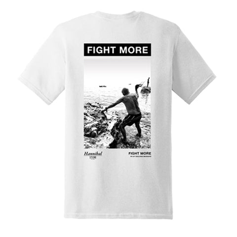 HANNIBAL FIGHT MORE TEE WHITE