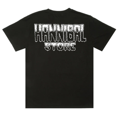 HANNIBAL STORE DESTROY T-SHIRT BLACK