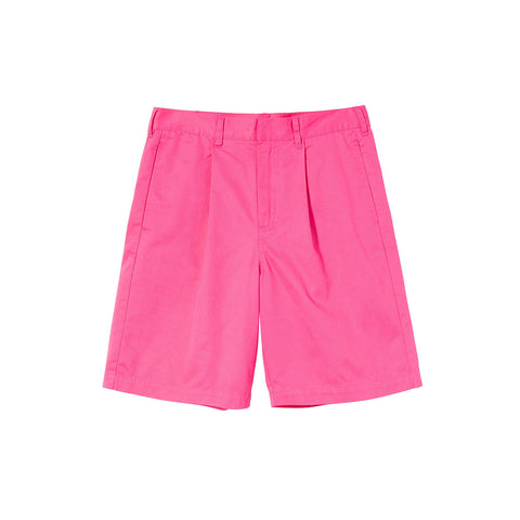 STUSSY LEE BAGGY SHORT HOT PINK