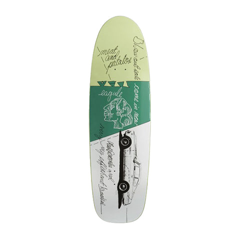 KROOKED GONZ EFFISHANT DECK 9.87