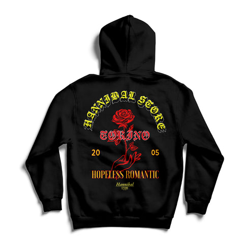 HANNIBAL STORE HOPELESS ROMANTIC HOODIE BLACK