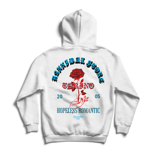 HANNIBAL STORE HOPELESS ROMANTIC HOODIE WHITE