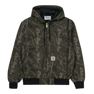 CARHARTT ACTIVE JACKET CAMO TREE GREEN