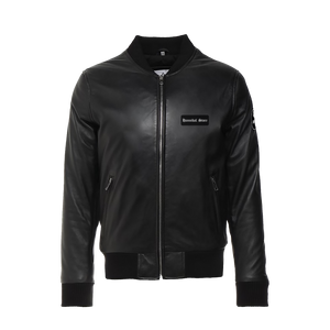 HANNIBAL STORE VEGAN LEATHER JACKET