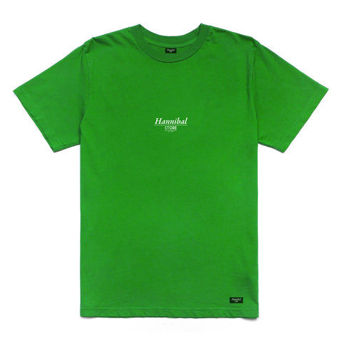 HANNIBAL STORE CLASSIC TEE GREEN