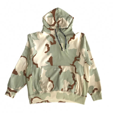 UNITED STANDARD HOODED LOGO CAMO SWEAT