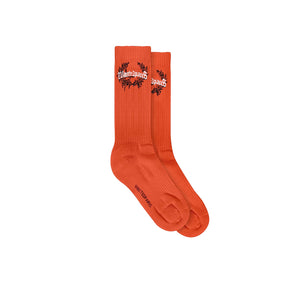 WASTED PARIS COLUMBIA BRIDGE SOCKS ORANGE
