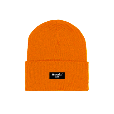 HANNIBAL STORE CUFF BEANIE ORANGE