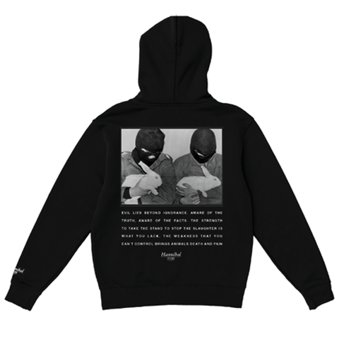 HANNIBAL ANIMAL LIBERATION HOODIE