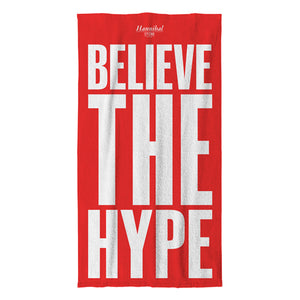 HANNIBAL STORE BELIEVE THE HYPE BEACH TOWEL