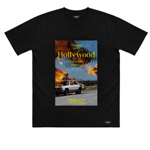 HANNIBAL BURNING CAR TEE BLACK