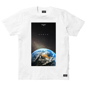 HANNIBAL STORE EARTH T-SHIRT WHITE