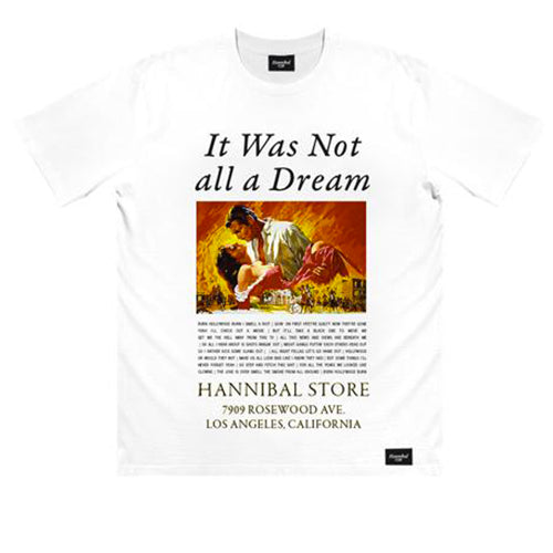 HANNIBAL GONE WITH THE WIND TEE WHITE