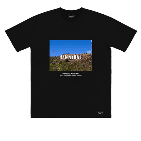 HANNIBAL HOLLYWOOD TEE BLACK