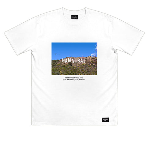 HANNIBAL HOLLYWOOD TEE WHITE