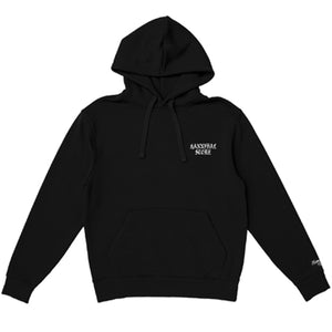 HANNIBAL WEST SIDE LOGO BLACK HOODIE