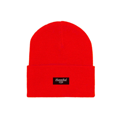 HANNIBAL STORE CUFF BEANIE RED