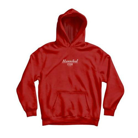 HANNIBAL CLASSIC HOODIE - RED