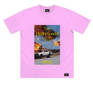 HANNIBAL BURNING CAR TEE PINK