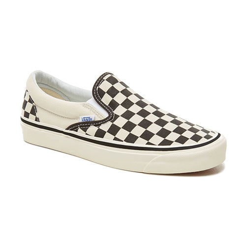 VANS ANAHEIM FACTORY CLASSIC SLIP-ON 98 Checkerboard-Black-White