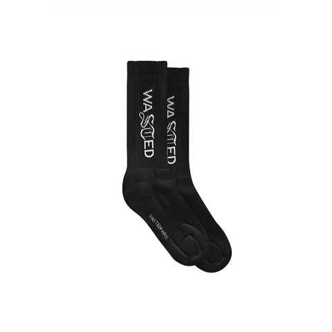 WASTED PARIS SIGNATURE SOCKS BLACK
