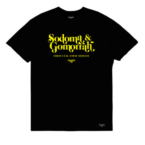 HANNIBAL SODOMA & GOMORRAH TEE BLACK