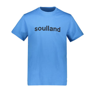 SOULLAND CHUCK T-SHIRT LIGHT BLUE