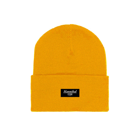 HANNIBAL STORE CUFF BEANIE YELLOW