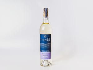A bottle of Telor Y Coed medium sweet mead. 750ml