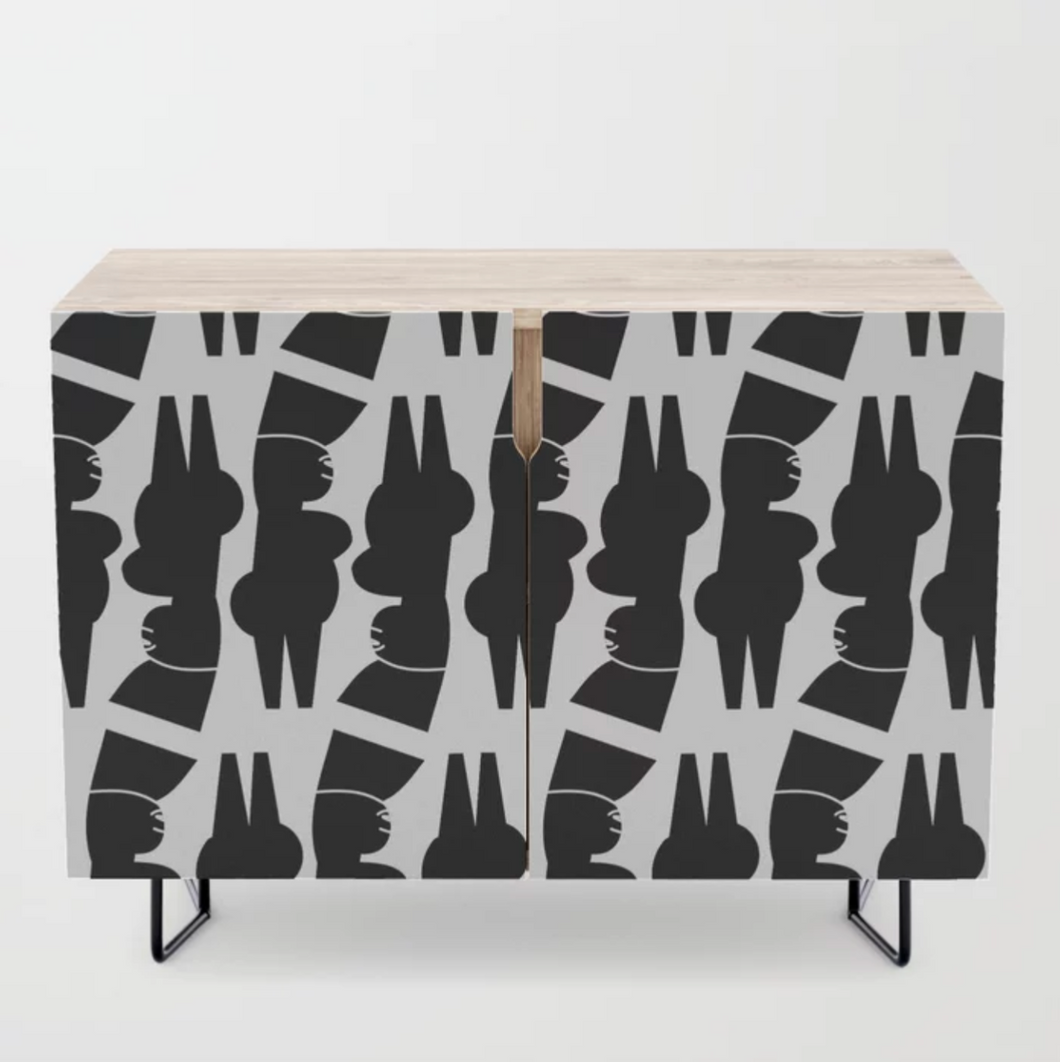 Funky Female Credenza