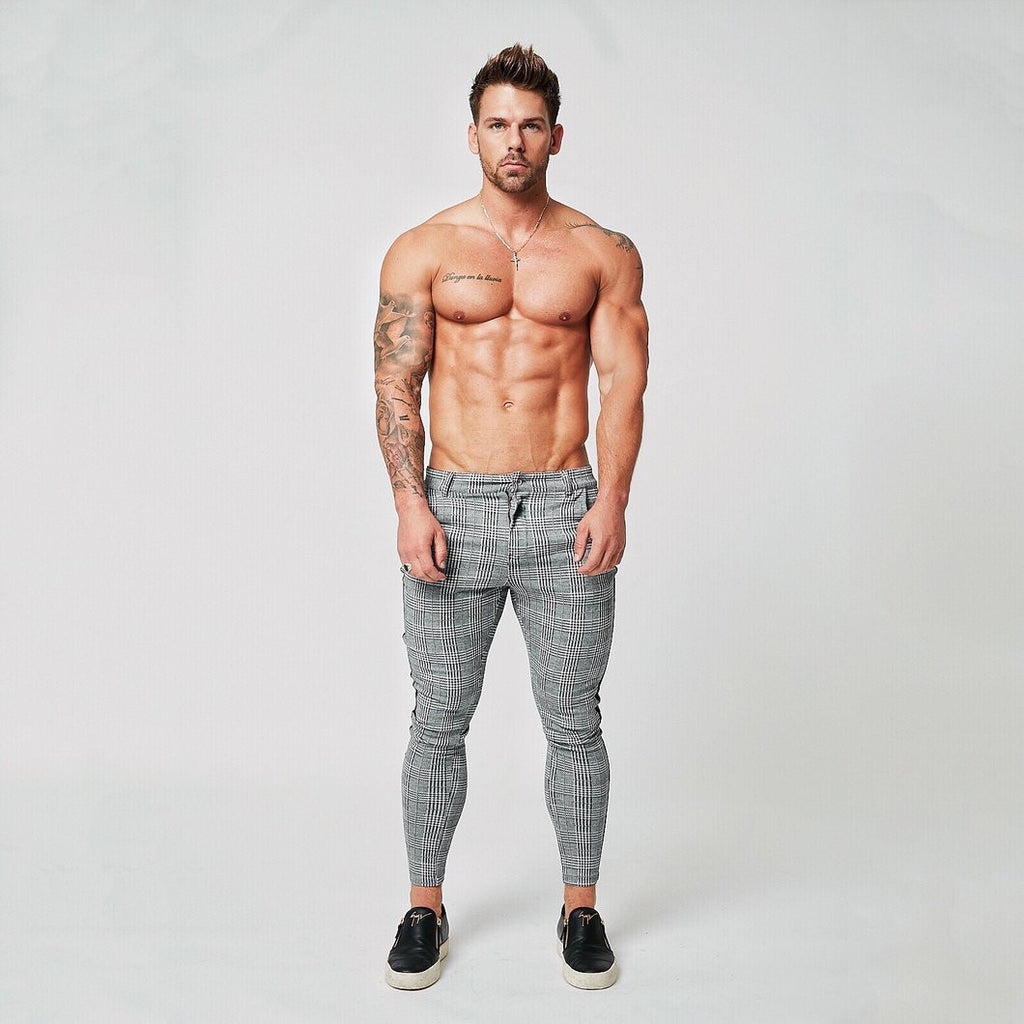 Darwin Plaided Pants - PeacefulEnergy