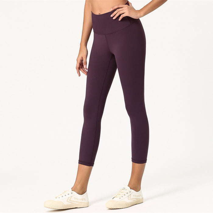 Dynamic Seamless Capri Leggings - PeacefulEnergy
