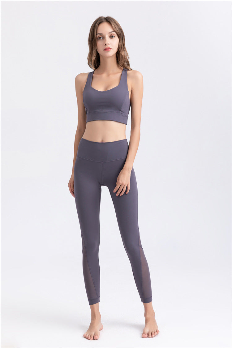 New Performance Mesh Leggings