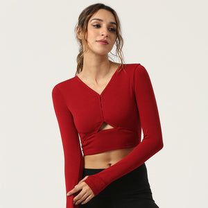 Dynamic Effortless Longsleeves Top - PeacefulEnergy