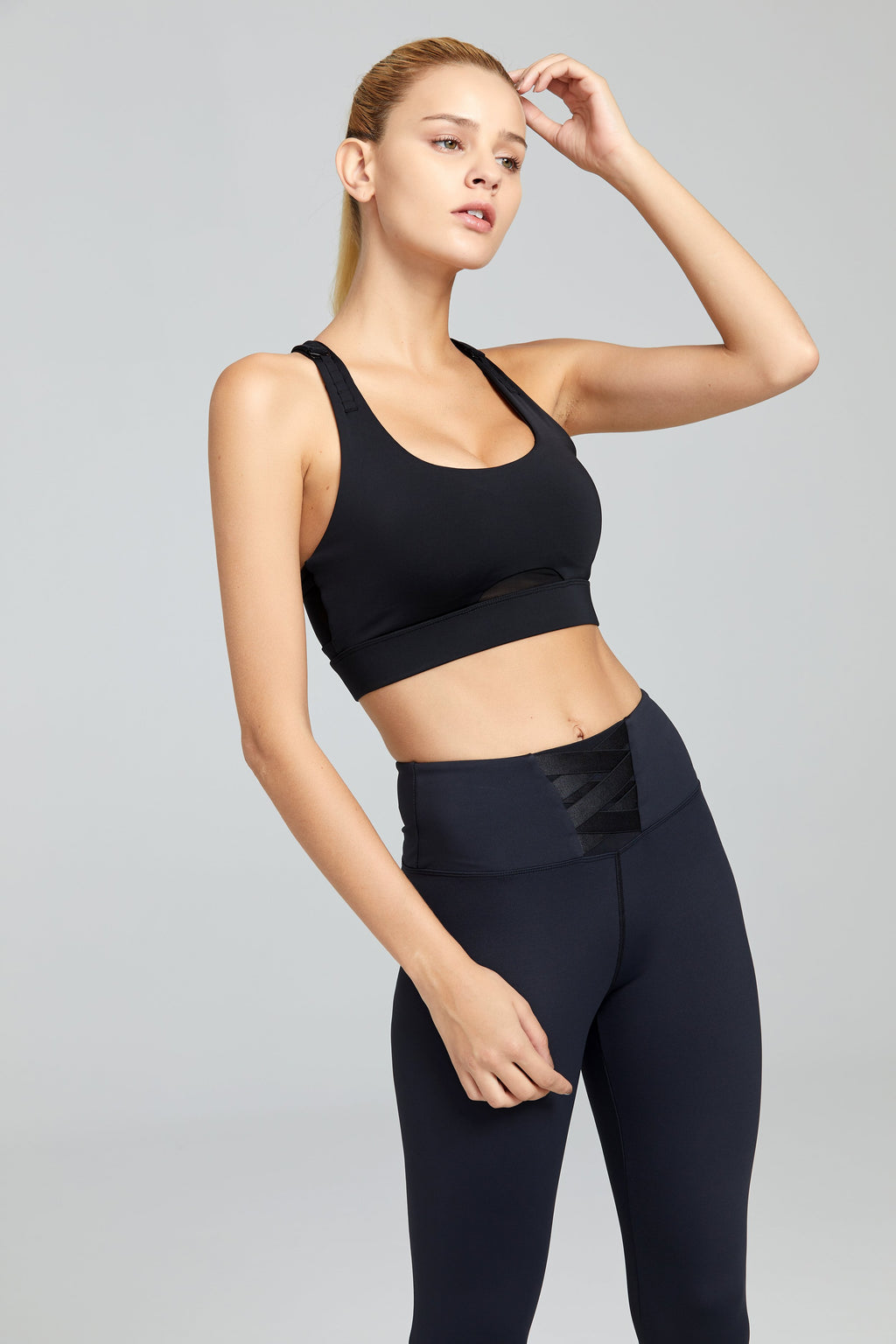 Adjustable Straps Sports Bra