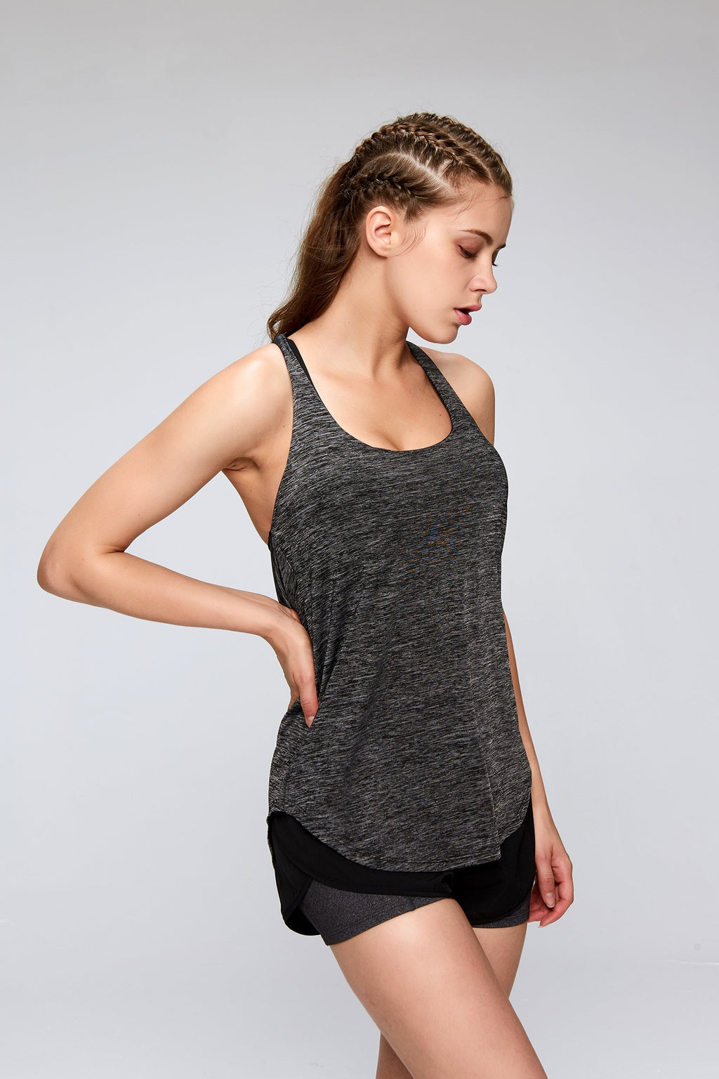Two In One | Tank top + Bra - PeacefulEnergy