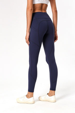 Vital Dark Seamless Leggings - PeacefulEnergy