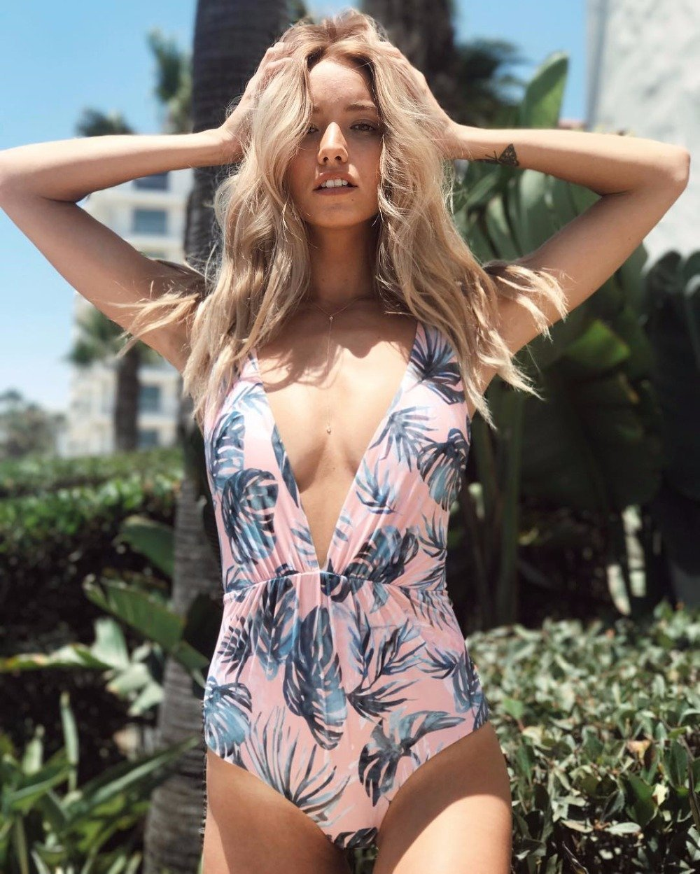 Flora Print Swimsuit - PeacefulEnergy