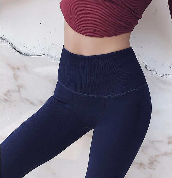 Ultra Cotton Leggings with Wide Waistband - PeacefulEnergy