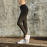 High Waist AIRBRUSH Yoga Pants - PeacefulEnergy