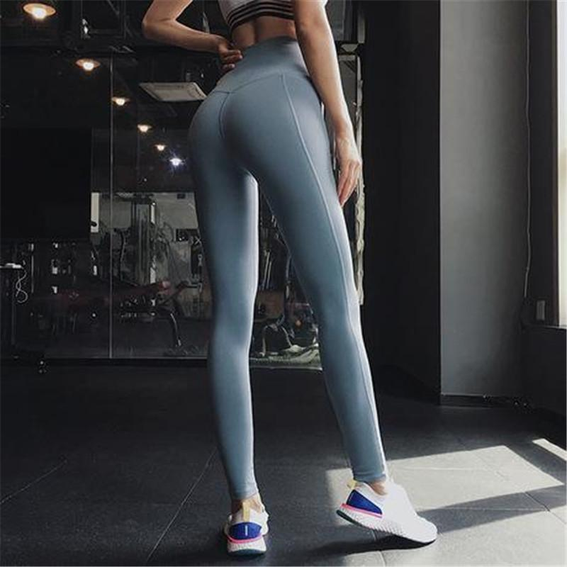 High Waist Shiny Leggings - PeacefulEnergy