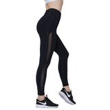 SYPREM high waist Yoga Pants  leggings women yoga mesh black leggings high elastic new sexy girls yoga pants leggings
