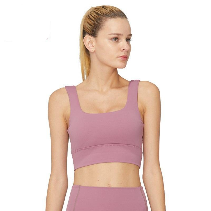 SYPREM Sports bra  Non steel Gather high strength duo color shockproof women seamless sports gym yoga fitness bra ,WX181003