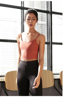 Cami Padded Sports Bra - PeacefulEnergy