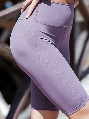 High Waist Seamless Cycling Shorts