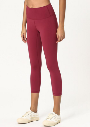 Dynamic Seamless Capri Leggings