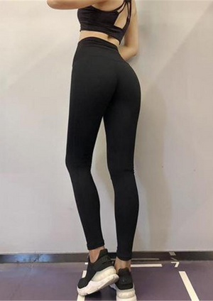 High Waist Shiny Leggings