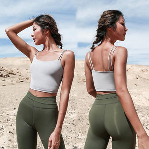 Fitted Cami Padded Top - PeacefulEnergy