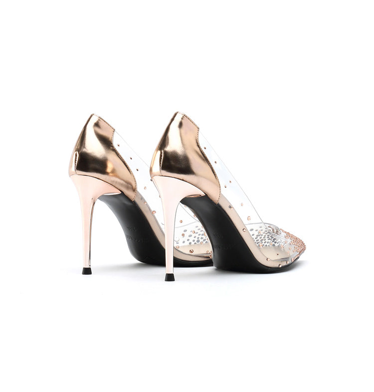 Crystals High Heels - PeacefulEnergy