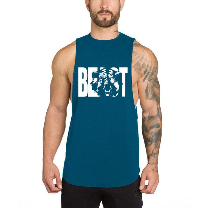 3b1dfcabd2f51 Men s Muscle Gym Workout Stringer Tank Tops Bodybuilding Fitness T-Shirts -  PeacefulEnergy